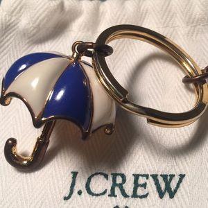 J.Crew Umbrella Key Chain